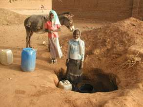 Water from a hand dug well is unsafe to drink