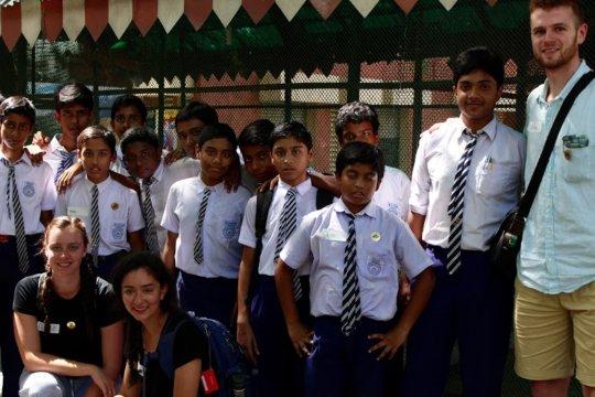 Green Rhinos of Gonipur School and Global Fellows