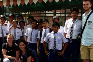 Green Rhinos of Gonipur School and Global Fellows