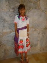 Maria, a beautiful little yaqui girl