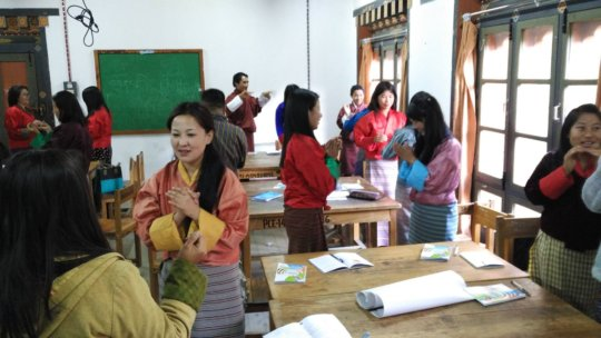 NFE and ECCD instructors at Paro