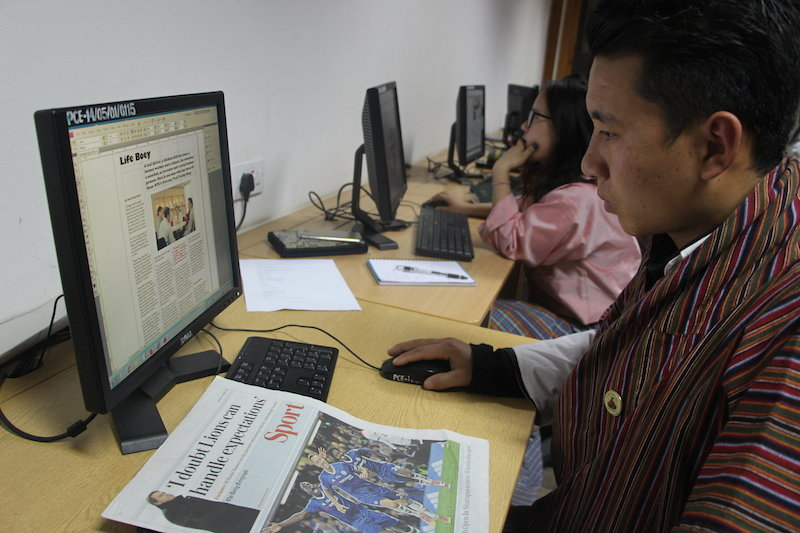 Students will design better their news letter