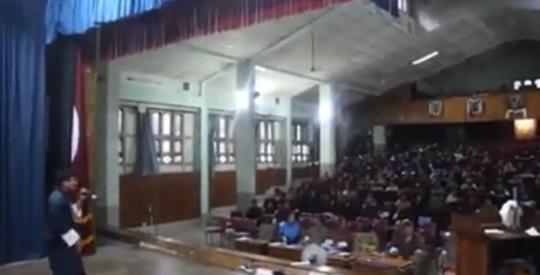 Kezang Dorji performing Dear Prime Minister