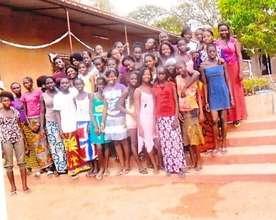 Young women in Kedougou, Senegal