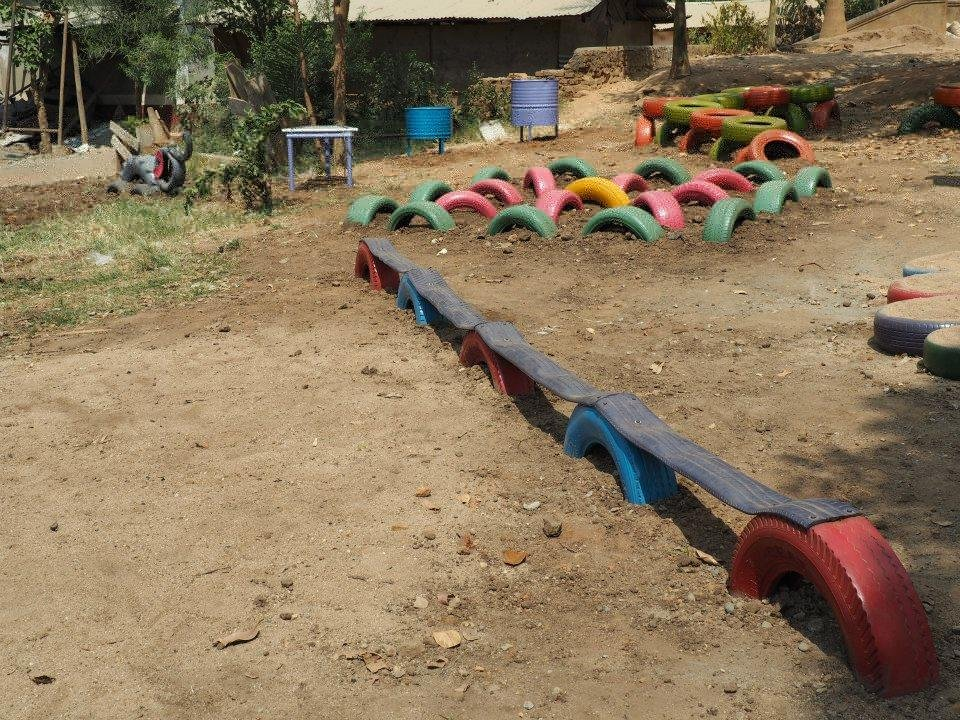 Build a School Playground for 500 Ugandan Children