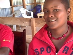 Elizabeth Smiles  while at TYSA girls Resource Centre