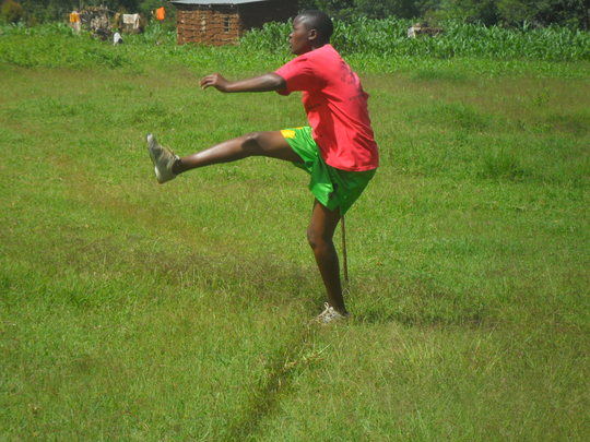 A corner kick!
