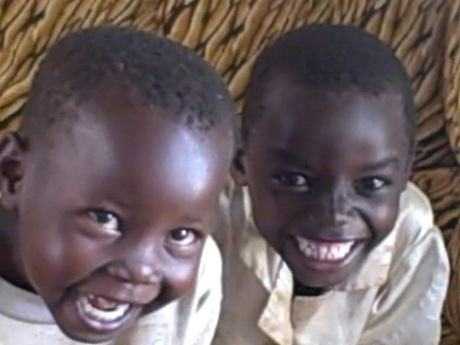 Monica and Jacinta smile