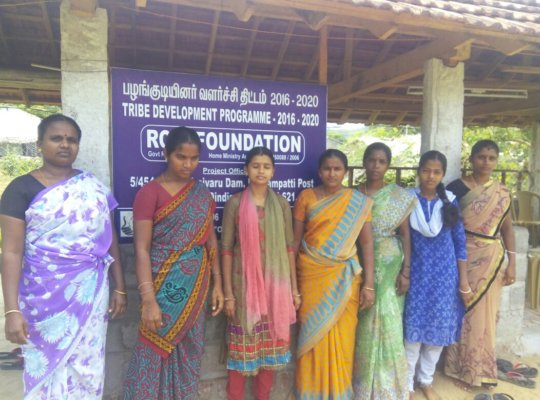 A group of benefited with MS.Maha