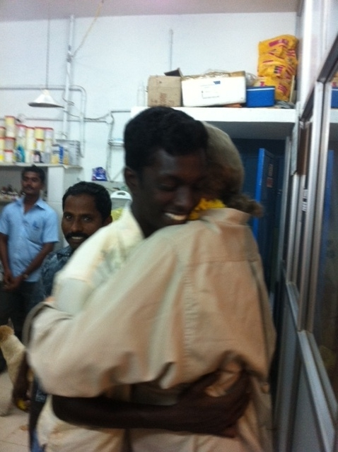 Vijay...Our beloved night supervisor.