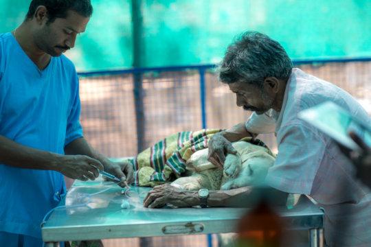 Dr.Ramakrishna and PureHeart Sekar.