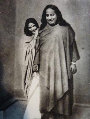 Anandamayi Ma and Swami Yogananda.