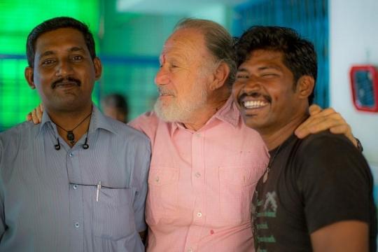 Dr. Raja, Leslie, and Vishwa...Blessings.