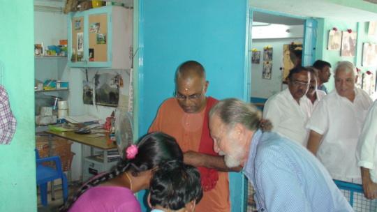Swami Muktananda...Head of Ananda Ashram in Kerala