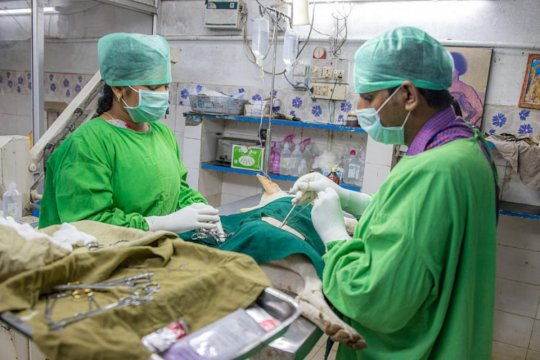 Our beloved doctors.