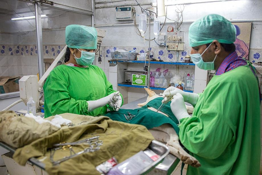 Dr.Raja and Dr.Heera
