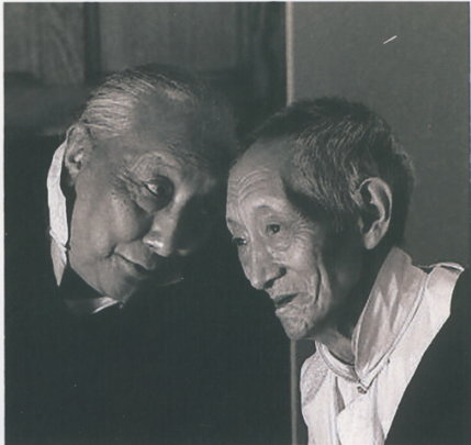 "Dilgo Khyentse and Kalu Rinpoche...""Om Ah Hung."""