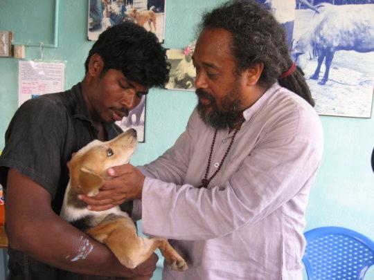 Mooji, Vishwa, and lucky Bhakti