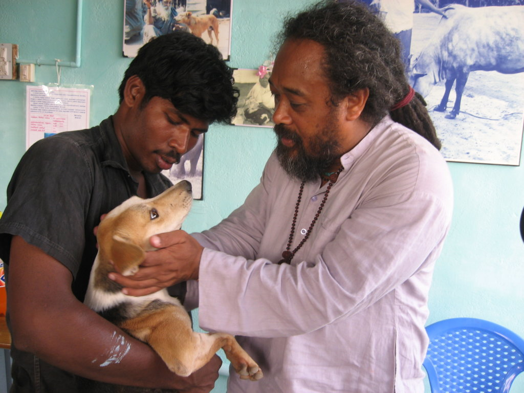 Mooji, Vishwa, and lucky Bhakti