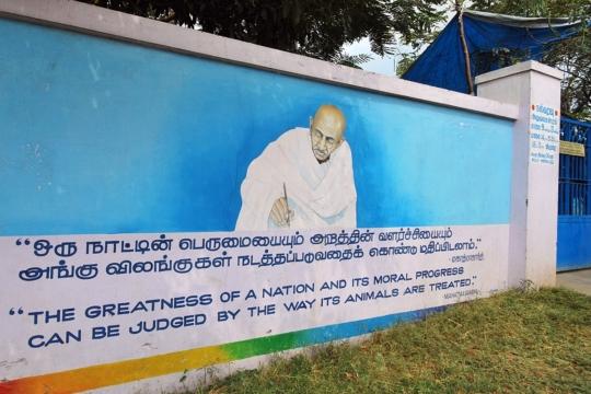 Thank you. Thank you...Dear Gandhi-ji.