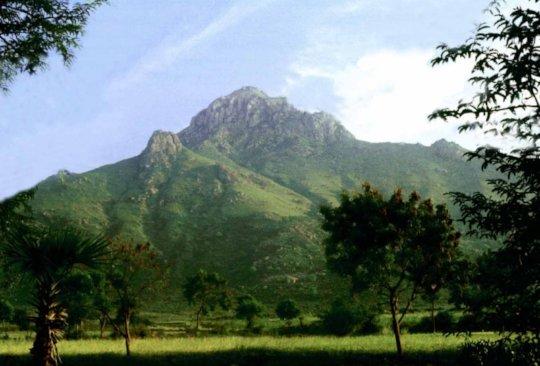 Sacred Arunachala. Worshipped for 1000's of years.