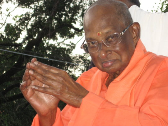 Swami Satchidananda.