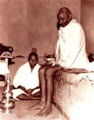 My Baba (Swami Muktananda) as a young man.
