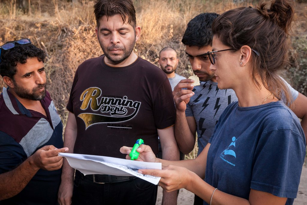Reports On Emergency Relief For Refugees Arriving In