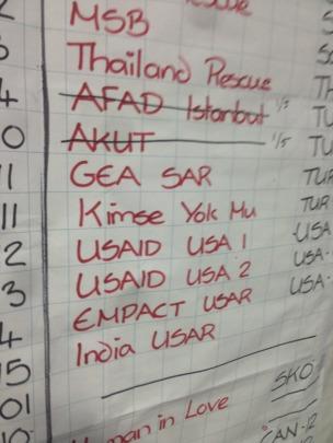 International Check-In Board - Nepal - 2015