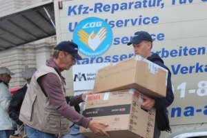 Distribution of supplies