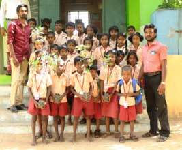 students participation in the project