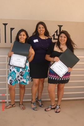YWLP participants receive community award.