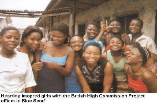 Providing Sign Language to 3000 Nigerian Pupils