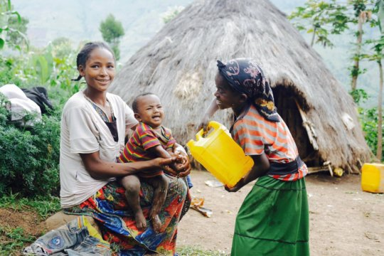 Cleaning, cooking and bathing with safe water