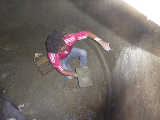 Rendering the inside of the reservoir