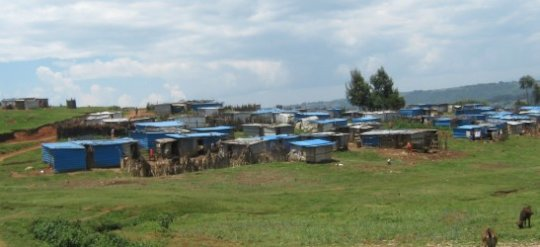 Kirathimo Internally Displaced Persons camp.