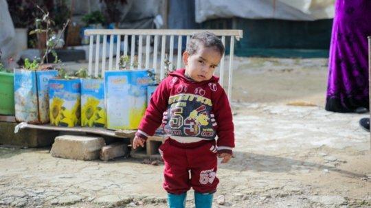 Rana & Ibrahim's son Fadi. Gavin Douglas/Concern.
