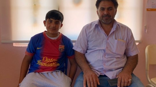 Fadi and Hassan in Turkey (Concern Worldwide)