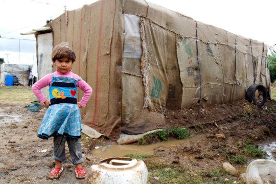 A refugee child in Lebanon (photo: Crystal Wells)
