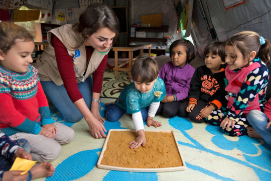 Concern's Education Officer works with children