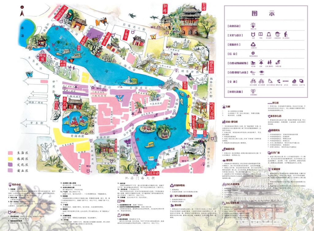Beijing Friends of Nature - ShiChaHai Green Map