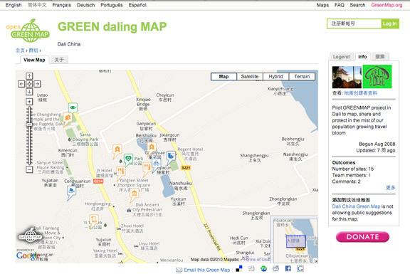 Daling Open Green Map