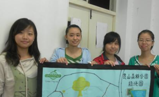 Young Mapmakers share results in HeFei