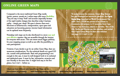 Making Open Green Maps is included in the Guide
