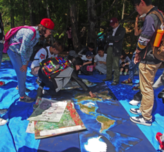 Chinese students encounter Chinese Green Maps, BC