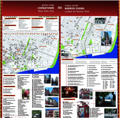 Chinatown NYC Green Map (in Spanish!) by Carlos M