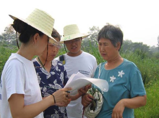 Rural Szechuan Province mapmaking