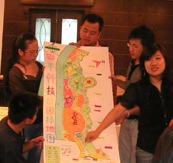 Green Map Workshop in Shanghai