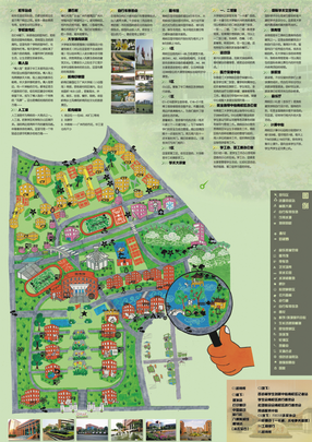 Guangzhou Mega University Green Map