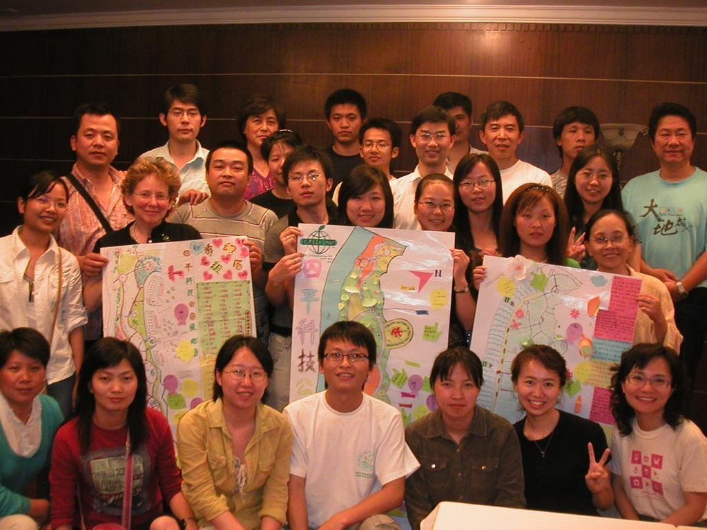 Open Green Map to Support the Greening of China
